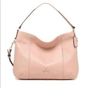Coach Isabelle Leather Shoulder Bag